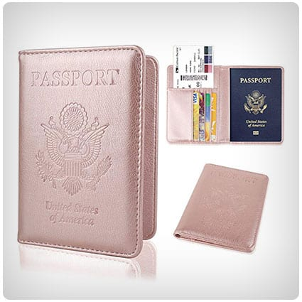 GDTK Leather Passport Holder