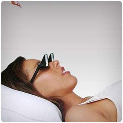 Horizontal Lazy Glasses