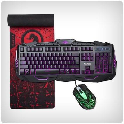 MARVO Gaming Keyboard Set