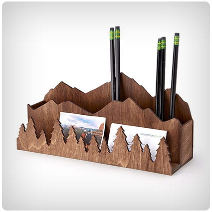 Mountain Escape Desktop Organizer