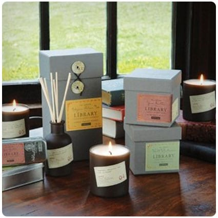 Paddywax Library Collection Scented Soy Wax Candle