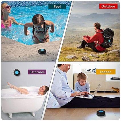 Portable Waterproof Wireless Shower Speaker