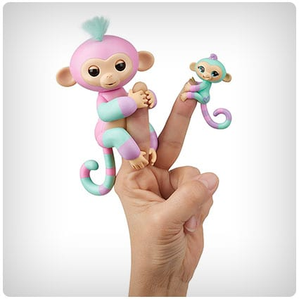 WowWee Fingerlings Baby Monkey And Mini BFFs
