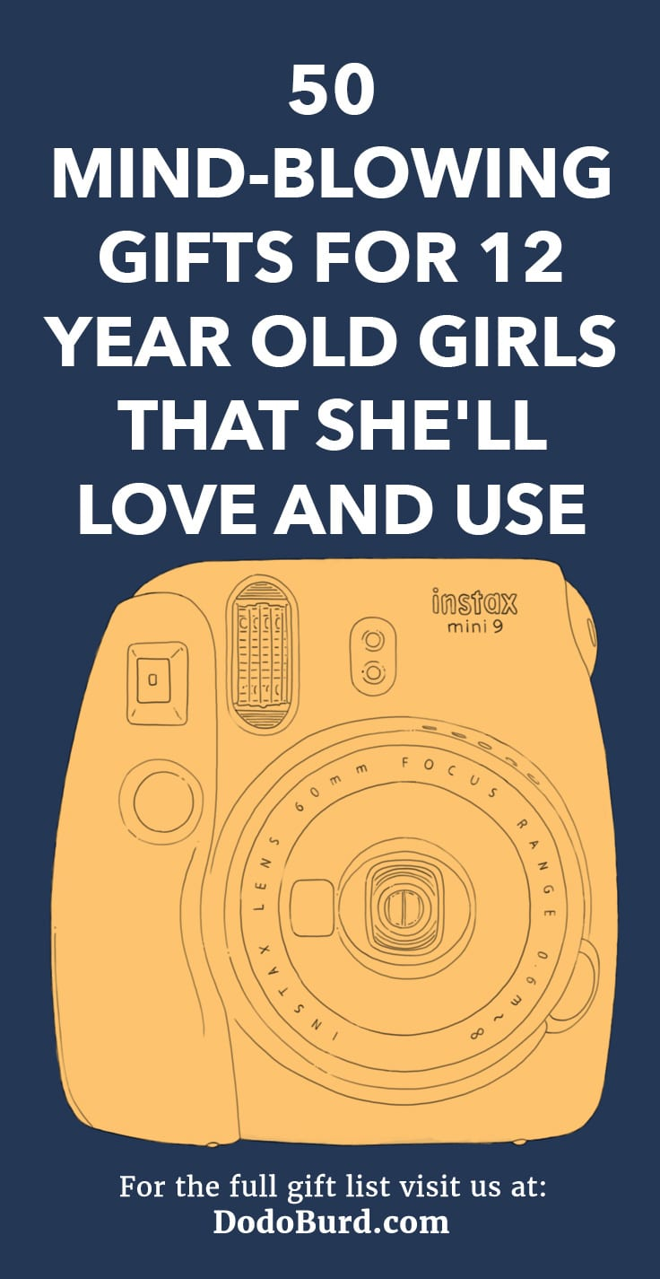 50 Mind Blowing Gifts For 12 Year Old Girls That Shell Love And Use