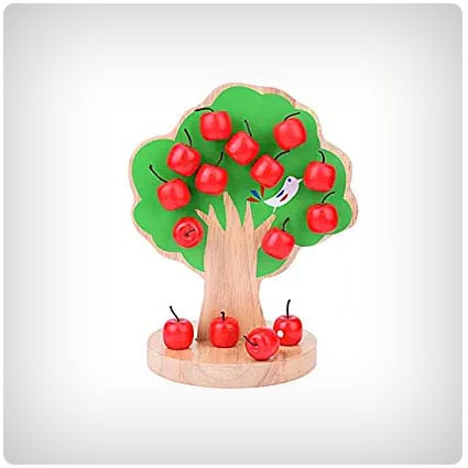 Chinatera Wooden Magnetic ​Apple Tree