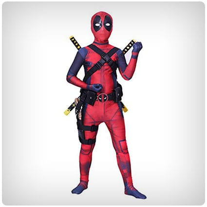 Danlier Spandex Deadpool Insprired Costume