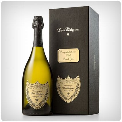 Dom Perignon With Personalized Gift Box