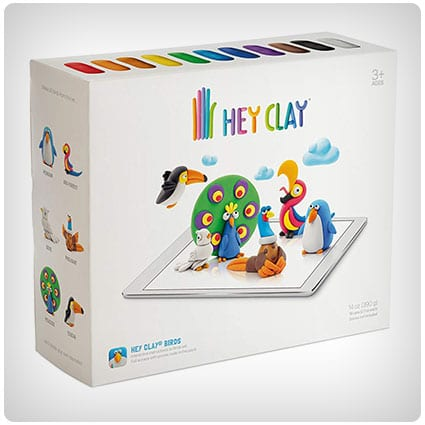 Hey Clay Birds Colorful Kids Modeling Clay