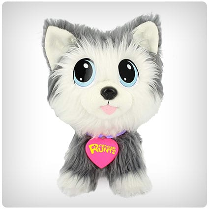 KD Kids Rescue Runts Husky Plush Dog