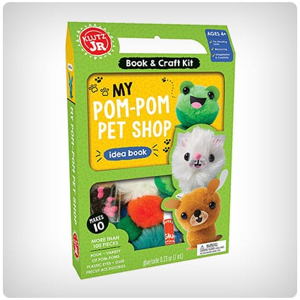 Klutz My Pom-Pom Pet Shop Craft Kit