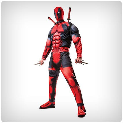 Marvel Rubie's Muscle Chest Deadpool Costume