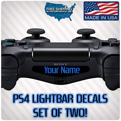 PS4 PlayStation Controller Lightbar Custom Decal