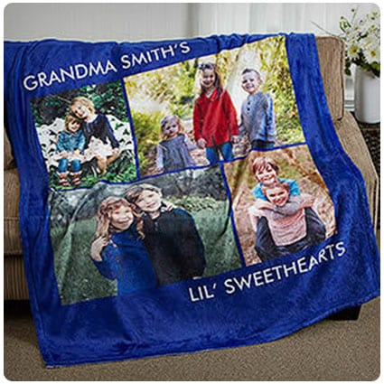 Picture Perfect Personalized Fleece Blankets