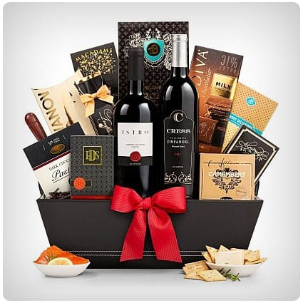 The 5th Avenue Wine Gift Basket