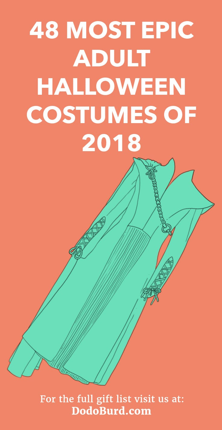 48 most epic (and expensive) adult halloween costumes of 2018 - dodo