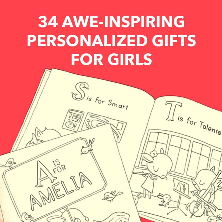 personalized gifts for girls