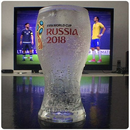 Collectible FIFA World Cup Glass Set