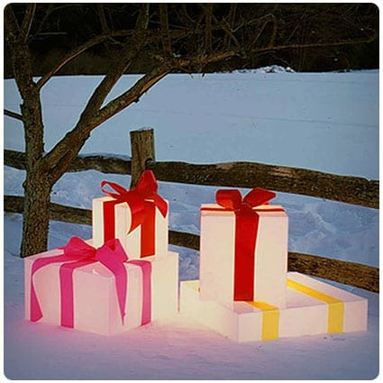 Diy Glowing Giant Gift Boxes