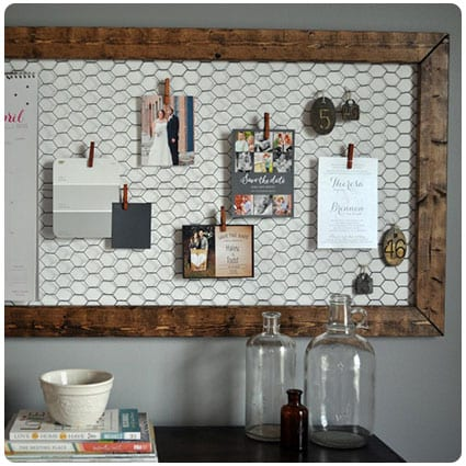 Diy Office Memo Board