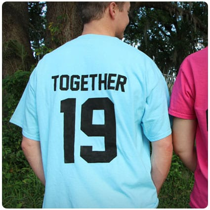 Diy Together Since T-Shirts