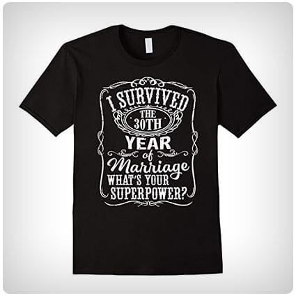 I Survived 30 Years of Marriage T-Shirt