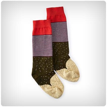 Unisex Burrito Socks