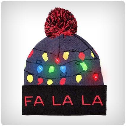 1e64f340aa649 Windy City Novelties LED Light-up Knitted Sweater