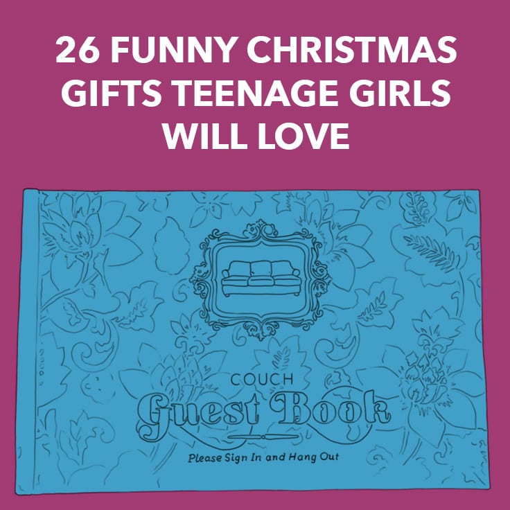 funny gifts for teenage girls