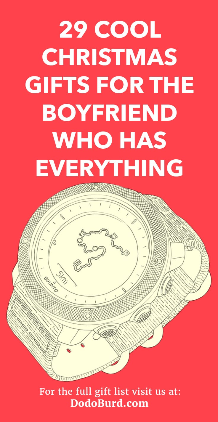 Christmas Gift Ideas For New Boyfriend.29 Cool Christmas Gifts For The Boyfriend Who Has Everything