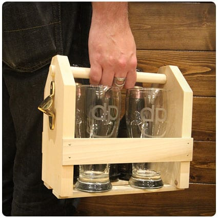Diy Custom Beer Glasses and Carrier