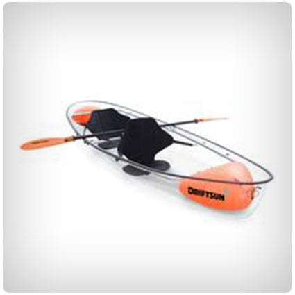 Crystal Clear Bottom Two Person Kayak
