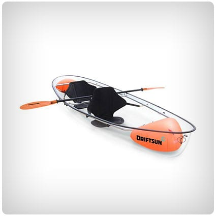 Driftsun Two Person Transparent Kayak Canoe