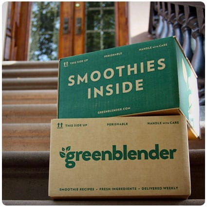 Green Blender Smoothie Subscription Box