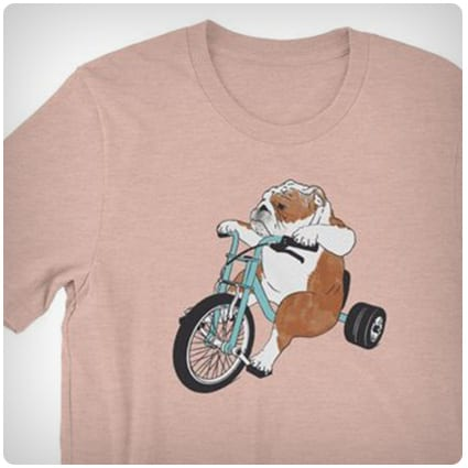 Dog on a Bike T-Shirts