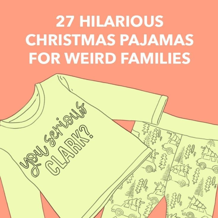 funny family christmas pajamas
