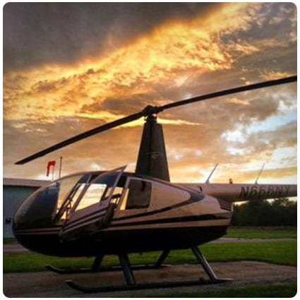 Sunset Helicopter Tour (Pittstown, NJ)