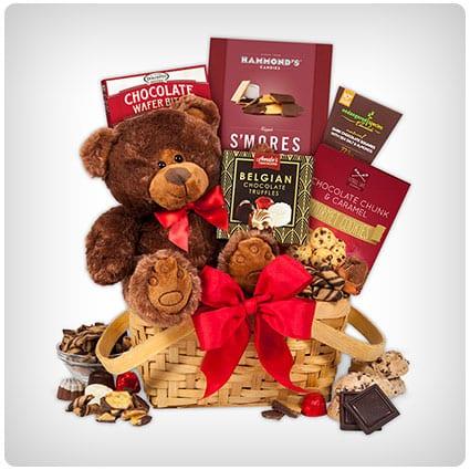 Gourmet Valentine's Gift Baskets