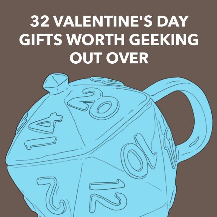geek valentines gifts