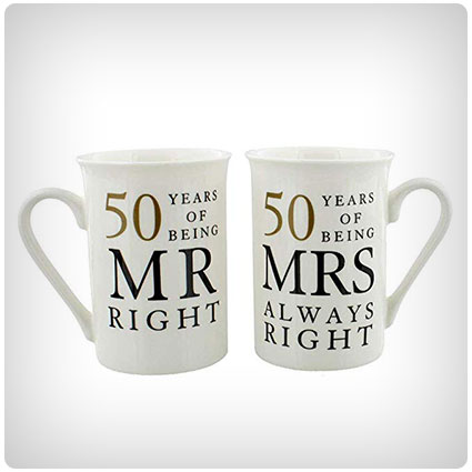 25 Traditional 50th Anniversary Gifts For The Best Golden Anniversary Dodo Burd
