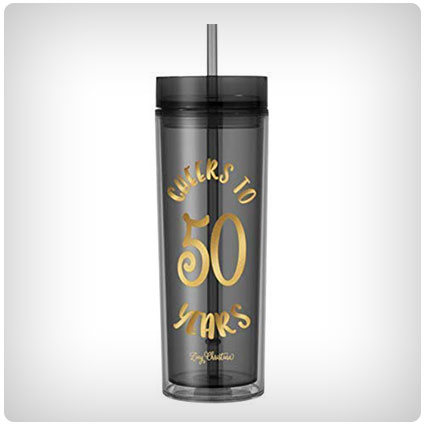 50th Birthday Tumbler
