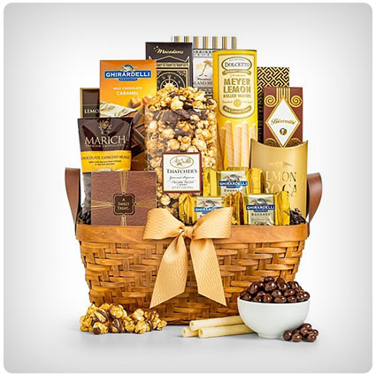 As Good As Gold Gift Basket
