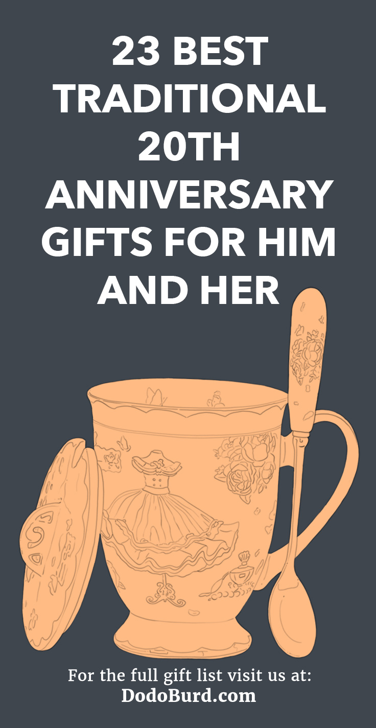 23 Best Traditional 20th Anniversary Gifts For Him And Her Dodo Burd