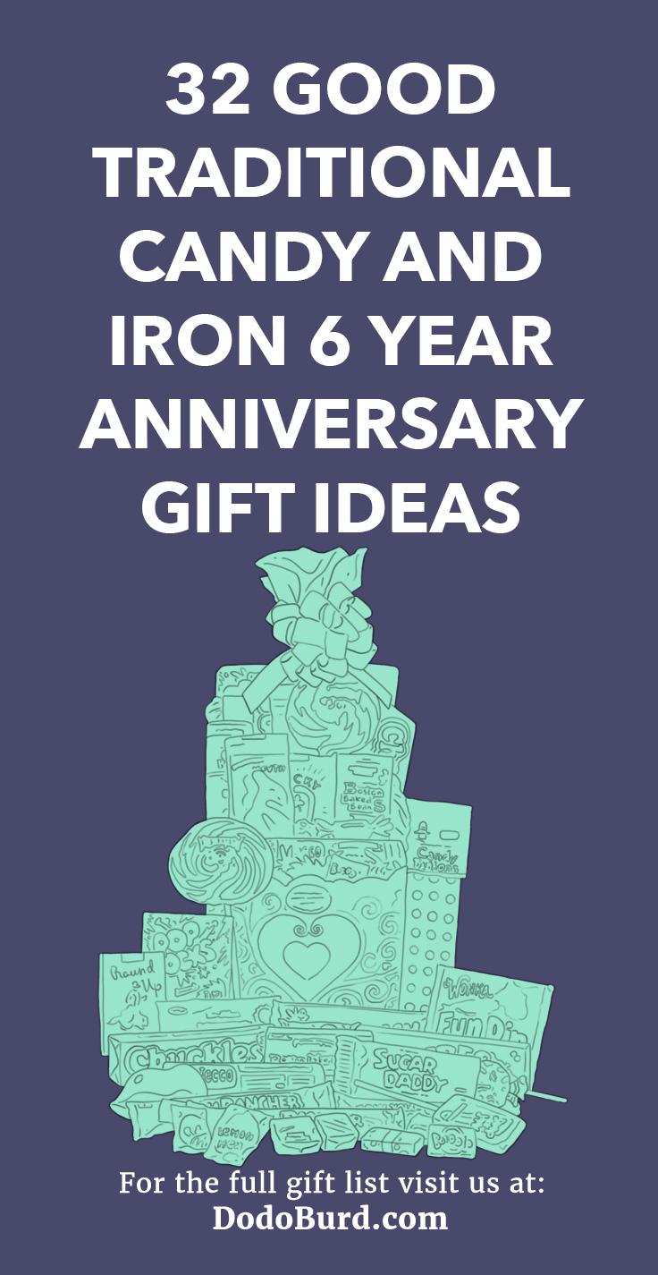 6 Year Anniversary Gifts