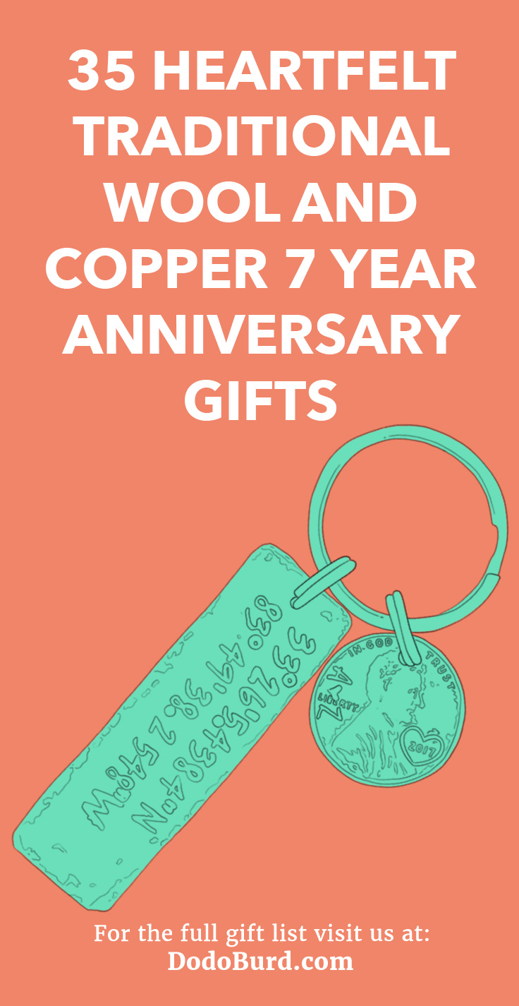 Copper 7 Year Anniversary Gifts