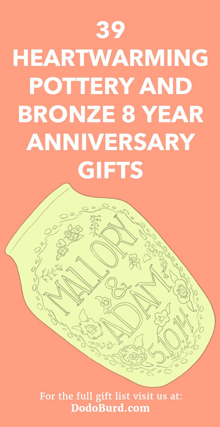 8 Year Anniversary Gifts