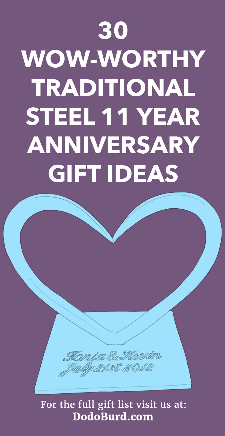 30 Wow Worthy Traditional Steel 11 Year Anniversary Gift Ideas