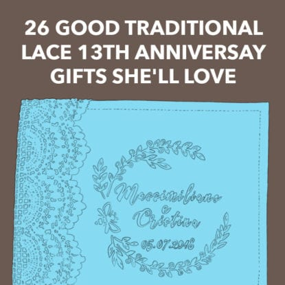 13th Anniversary Gifts