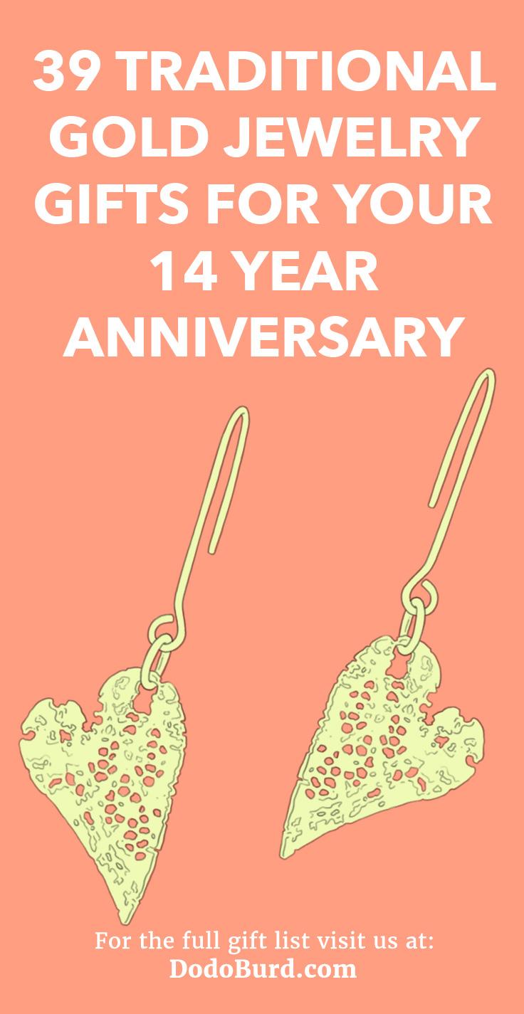14 Year Anniversary Gifts