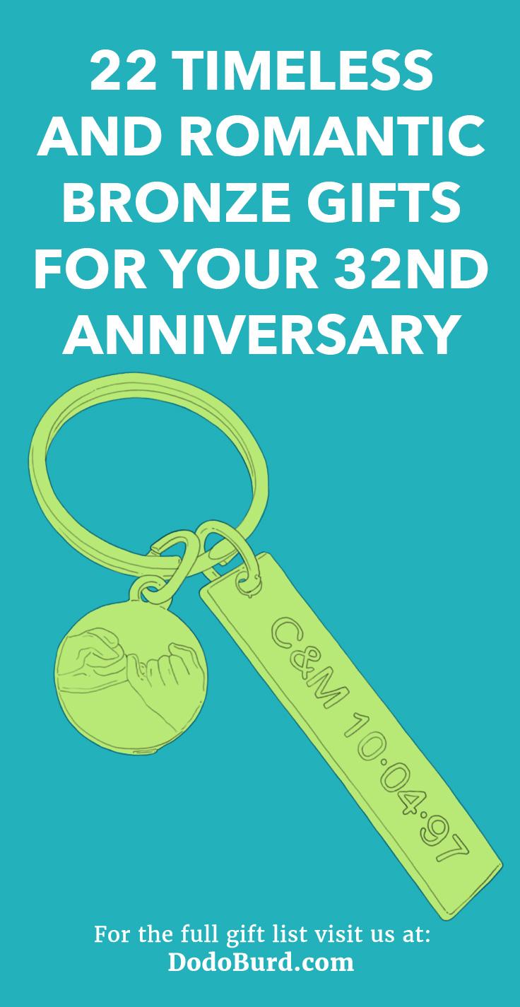 32nd Anniversary Gift Ideas