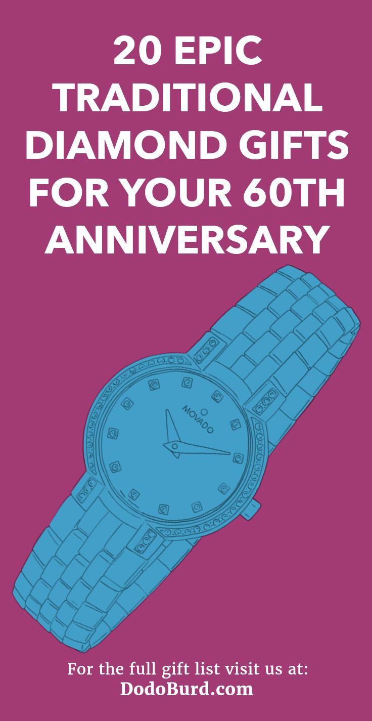 Diamond 60th Anniversary Gift Ideas